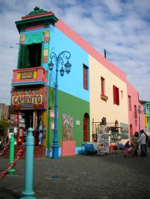 El Caminito está pertinho de San Telmo: combine os dois em um passeio