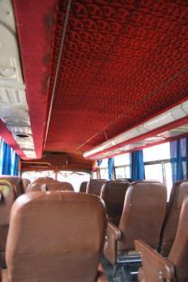 Os ônibus bolivianos: não espere nada melhor que isso...